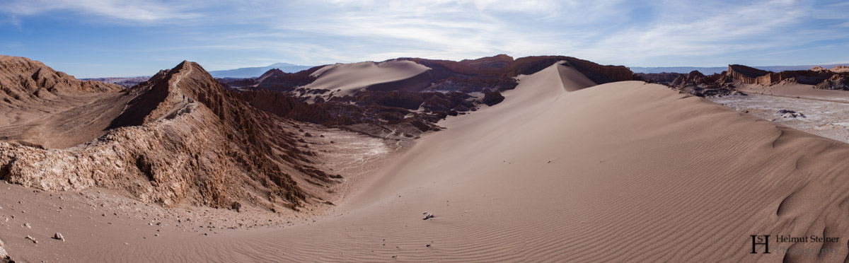 A dune in Atacama Desert, Northern Chile