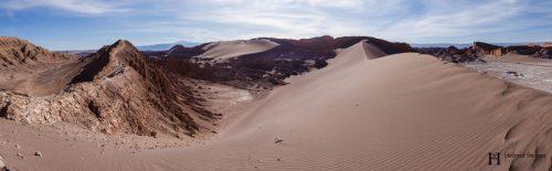 A dune in Atacama Desert, Northern Chile