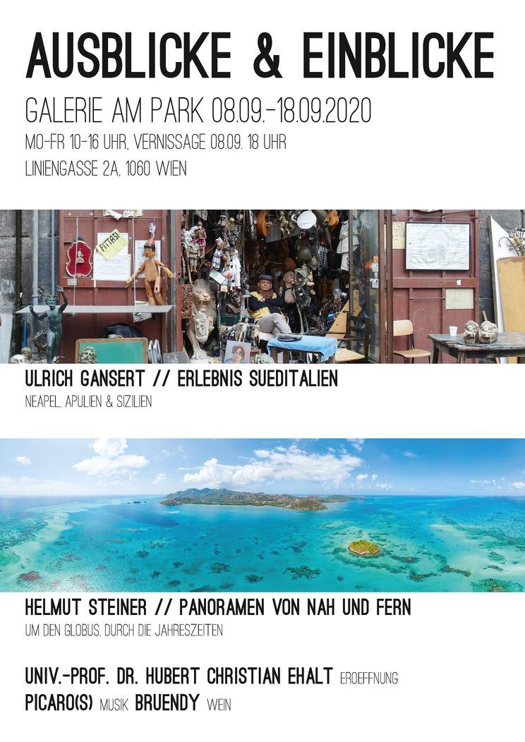 """Exhibition """"Ausblicke & Einblicke"""" 08.09.-18.09.2020"""